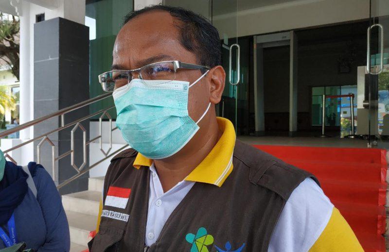 Kepala Dinas Kesehatan Kalteng yang juga selaku Wakil Ketua Harian Tim Gugus Tugas Percepatan Penanganan Covid-19 Kalteng, dr. Suyuti Syamsul. Foto : Ra