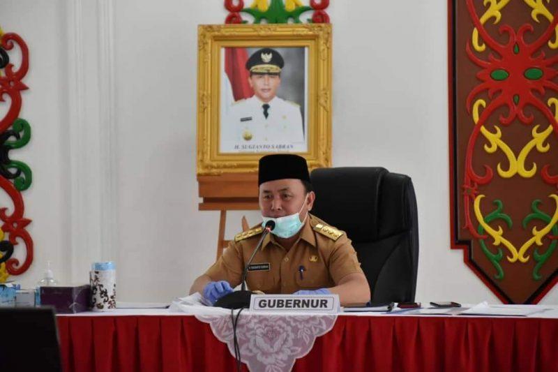 Gubernur Kalteng, H Sugianto Sabran