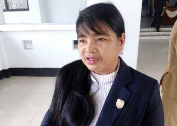 Anggota DPRD Kabupaten Seruyan, Atinita. Foto : Ro