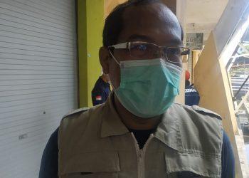 Wakil Ketua Harian Tim Gugus Tugas Percepatan Penanganan Covid-19 Kalteng dr. Suyuti Syamsul. Foto : Ra