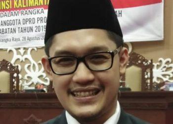 Wakil rakyat dari daerah pemilihan (Dapil) III DPRD Kalteng Bryan Iskandar. Foto : Ra