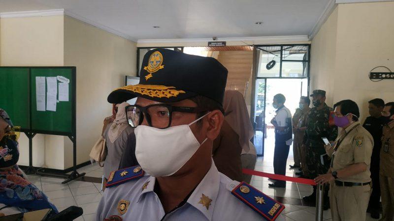 Ketua Tim Stop Covid-19 Kota Palangka Raya Alman Pakpahan. Foto : Ra