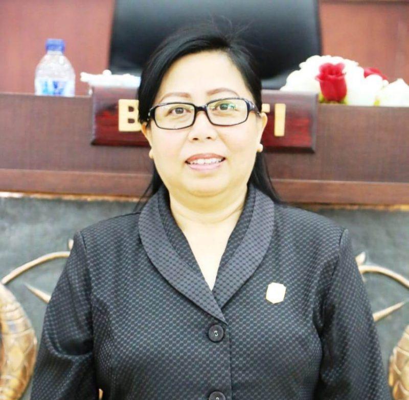 Wakil Ketua Komisi I DPRD Mura Tuti Marheni.