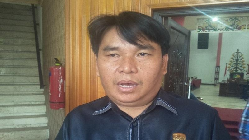 Anggota Komisi C DPRD Kota Palangka Raya Dudie B Sidau. Foto : Ra