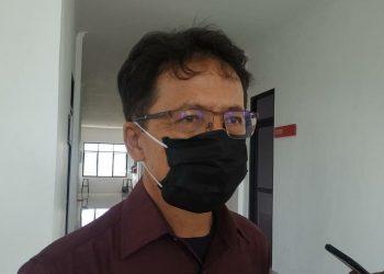 Ketua Pansus Anggaran Covid-19 dan Pengawasan Bansos DPRD Kalteng Yohannes Freddy Ering. Foto : Ra