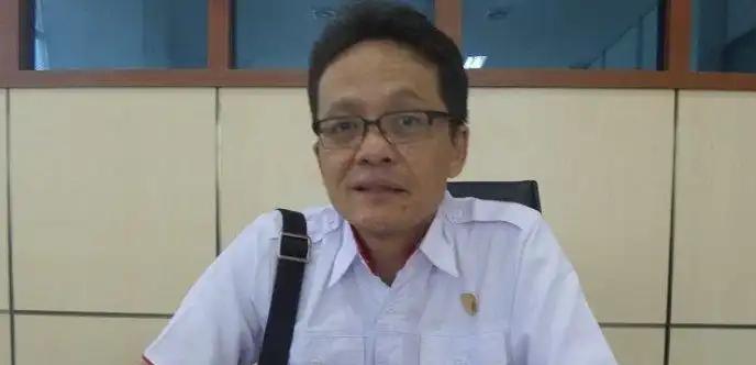Ketua Komisi I DPRD Kalteng Yohannes Freddy Ering