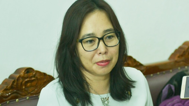 Anggota DPRD Kalteng , Ina Prayawati