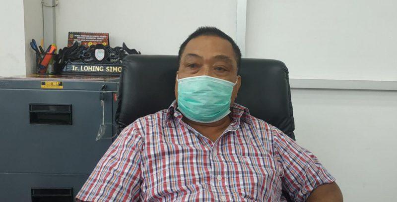 Anggota DPRD Kalteng Lohing Simon. Foto : Ra