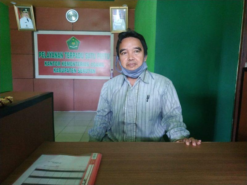 Kepala Kementerian Agama Kabupaten Seruyan, H. Hasanudin. Foto : Ro