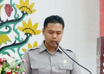 Anggota Komisi B DPRD Kota Palangka Raya Ted Apry Mahendra. Foto : Ra