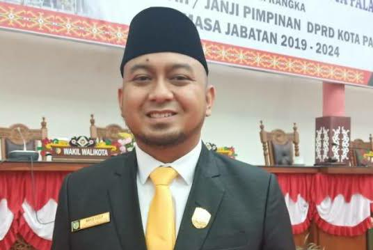 Wakil Ketua I DPRD kota Palangka Raya Wahid Yusuf. Foto : Ra