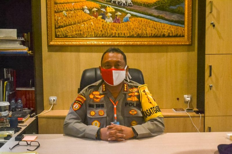 Direktur Samapta Polda Kalteng Kombes Pol Susilo Wardono.