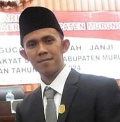 Anggota DPRD Mura Akhirudin.