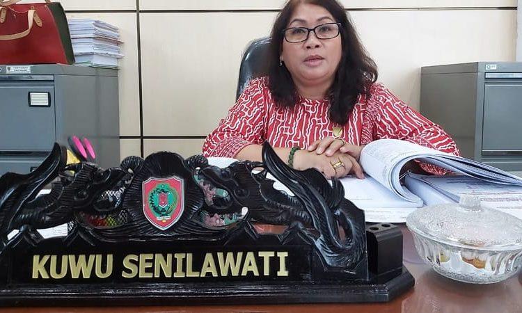 Sekretaris Komisi III DPRD Kalteng Kuwu Senilawati. Foto : Ra