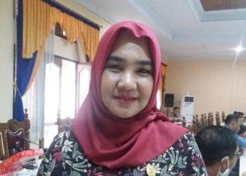 Anggota Komisi A DPRD Kobar Mina Irawati.