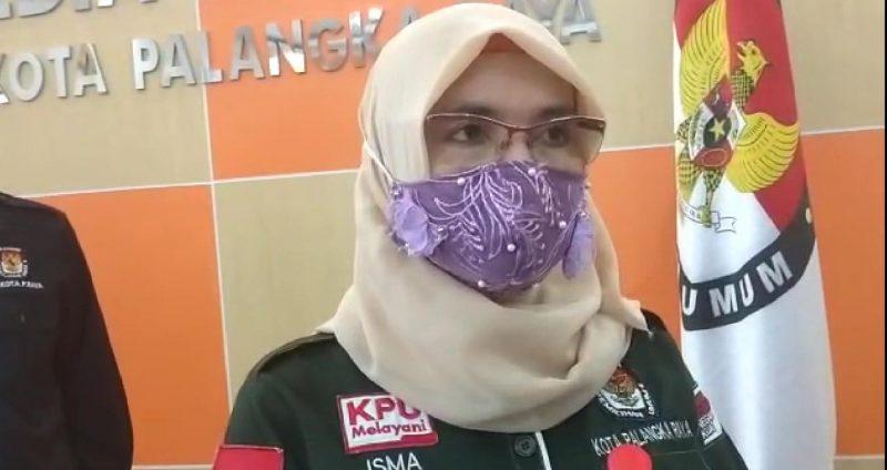 Ketua KPU Kota Palangka Raya Ngismatul Choiriyah. Foto : Ra