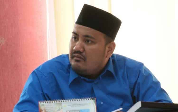 Anggota DPRD Kota Palangka Raya Nurkhalis Ridha