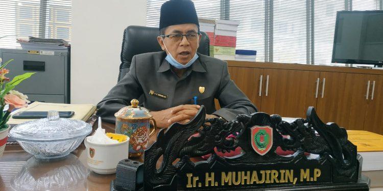 Wakil Ketua Komisi I DPRD Kalteng H. Muhajirin. Foto : Ra