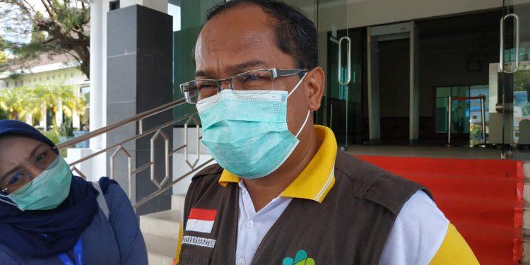 Kepala Dinas Kesehatan Kalteng dr. Suyuti Syamsul. Foto : Ra