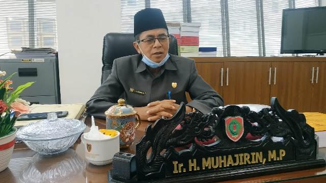 Wakil Ketua Komisi I DPRD Kalteng, H. Muhajirin.