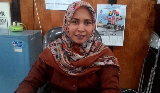 Anggota Komisi C DPRD Palangka Raya, Mukarramah.