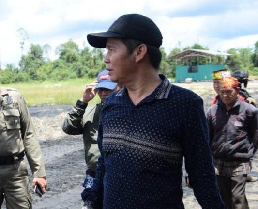 Kepala Dinas ESDM Kalteng, Ermal Subhan
