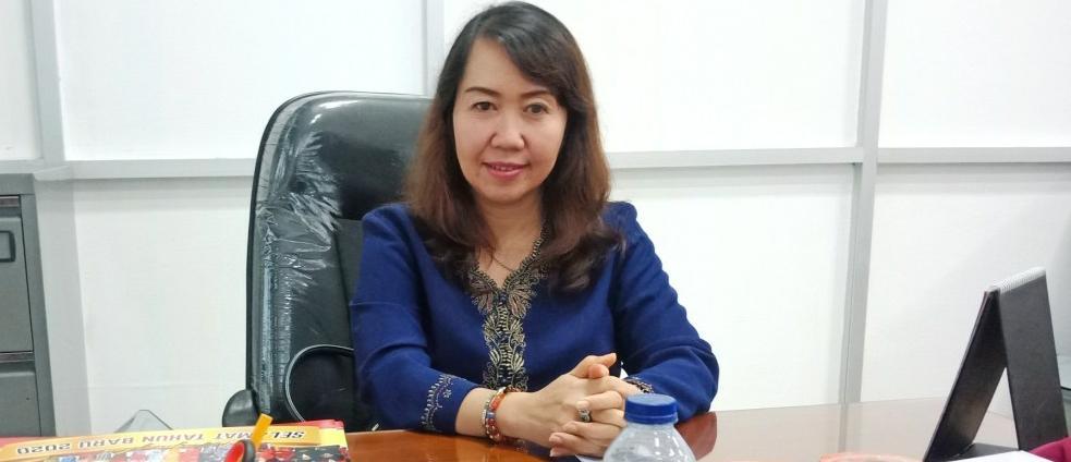Anggota Komisi II DPRD Kalteng, Natalia