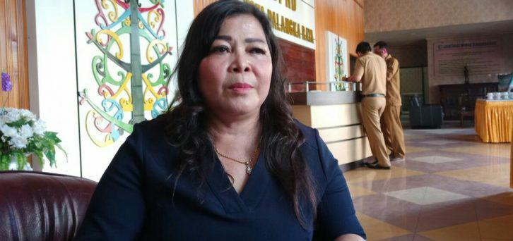 Ketua Komisi B DPRD Kota Palangka Raya, Nenie A. Lambung