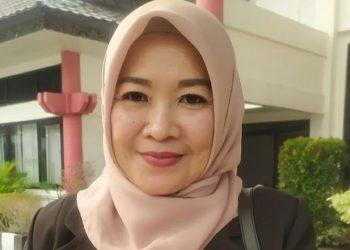 Wakil Ketua Komisi B DPRD Kota Palangka Raya, Susi Idawati. Foto : Ra