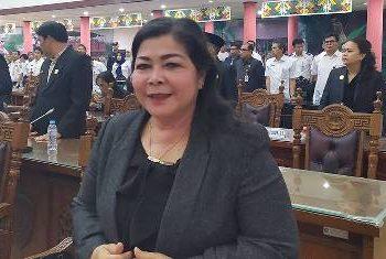 Ketua komisi B BPRD Kota Palangka Raya, Nenie A. Lambung.