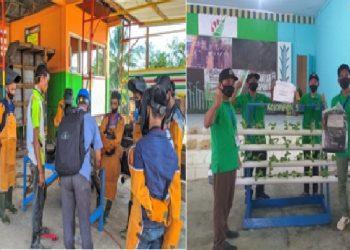 Peserta dari perwakilan 13 desa di Kecamatan Kolam saat serius mengikuti pelatihan yang diadakan PT BGA Region 3.
