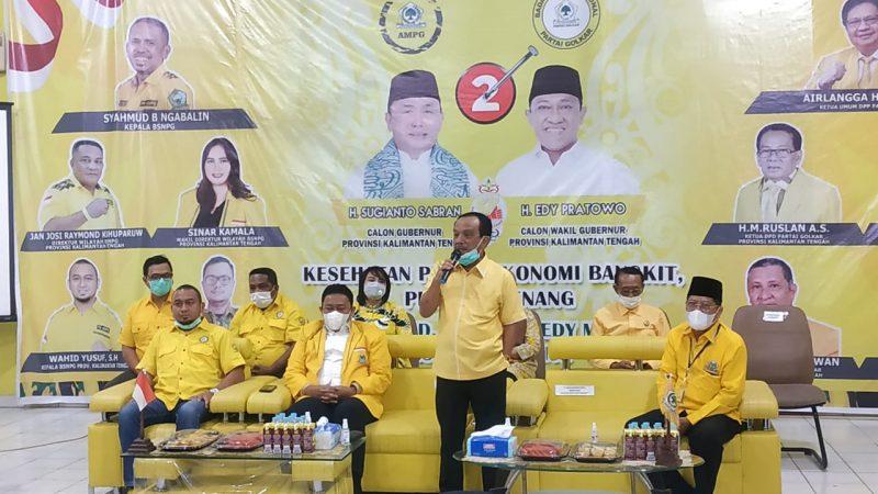 Ketua Dewan Pertimbangan DPD Golkar Kalteng Abdul Razak