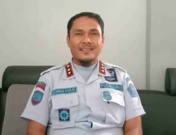 Kepala Lapas Narkotika Kelas II A Kasongan, Ahmad Hardi
