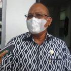 Anggota DPRD Kalimantan Tengah (Kalteng), H. Purman Jaya saat memberikan keterangan kepada awak media, Rabu (13/1).