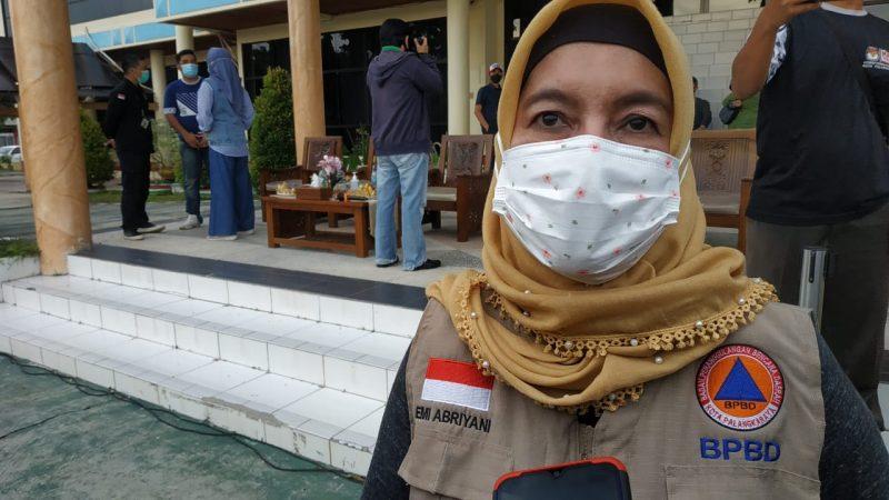 Kepala BPBD Kota Palangka Raya, Emi Abriyani. Foto : Ra