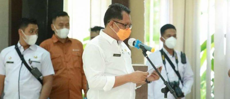 Ketua Pelaksana Harian Satgas Penanganan Covid-19, H. Darliansyah. Foto : Ra