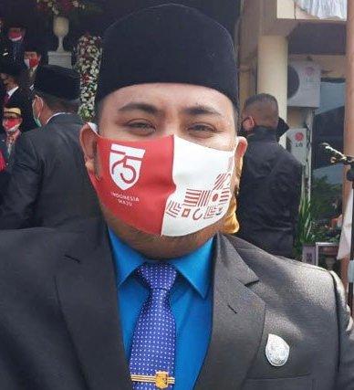 Anggota DPRD Kota Palangka Raya Noorkhalis Ridha.