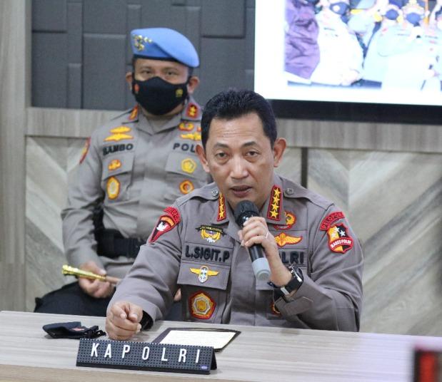 Kapolri Jenderal Polisi, Drs. Listyo Sigit Prabowo.