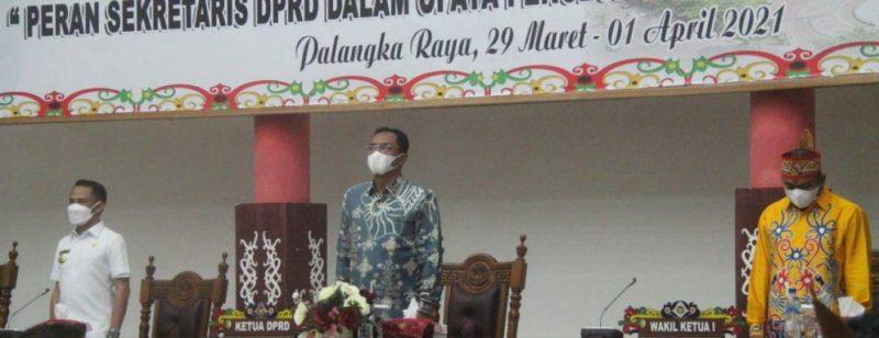 Raker Adeksi regional Kalimantan di gedung DPRD Kota Palangka Raya