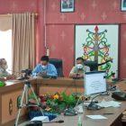 Jajaran DPRD Kota Banjarmasin pada saat melakukan kunker ke DPRD Kota Palangka Raya