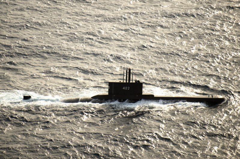 Kapal Selam Nanggala 402 saat masih beraktivitas di perairan laut RI.