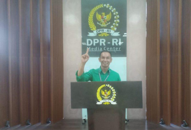 Ketua Kelompok Usaha Perhutanan Sosial Hasil Hutan Bukan Kayu (KUPS HHBK) dari IUPHKm Koperasi Cempaga Perkasa, Suparman