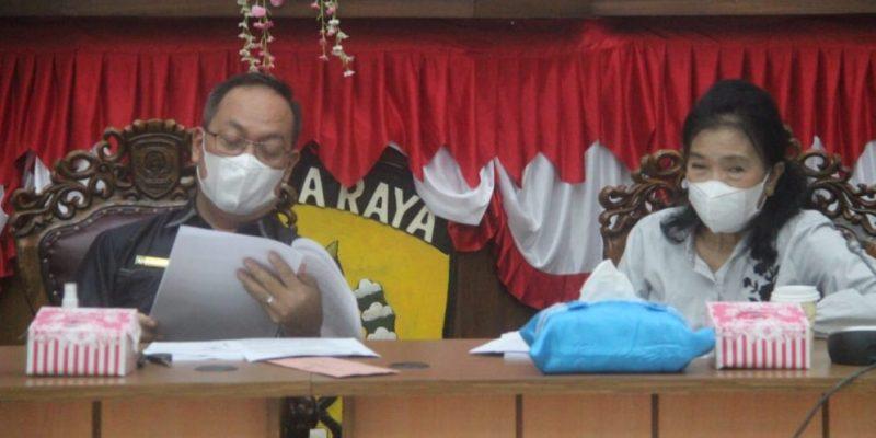 Ketua Pansus II DPRD Kota Palangka Raya, M Hasan Busyairi (kiri). Foto : Ra