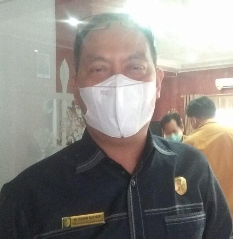 Anggota DPRD Kota Palangka Raya M Hasan Busyairi.