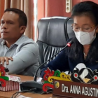 Juru bicara rapat paripurna Anna Agustina Elsye saat menyampaikan dalam rapat, Senin (27/9).