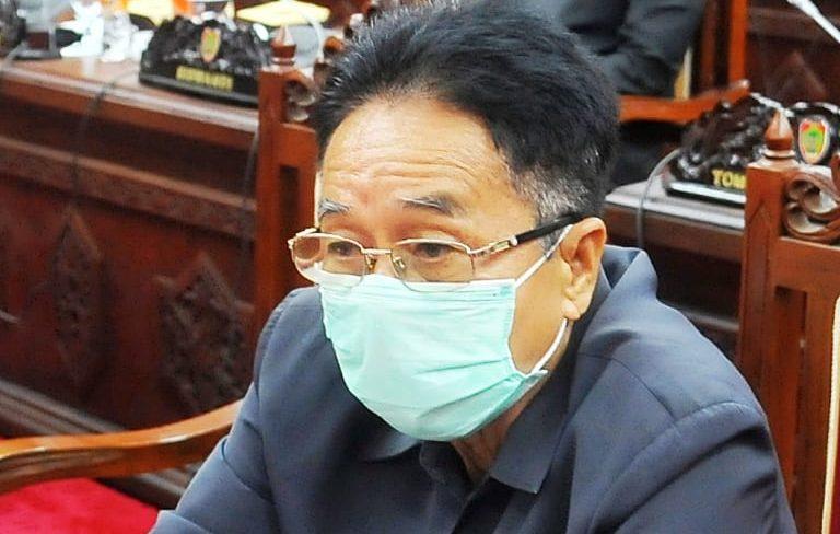Ketua Komisi III DPRD Kalteng Duwel Rawing.
