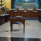 Wali Kota Palangka Raya Fairid Naparin saat membuka rakor penyusunan LPPD dan SPM 2022, Senin (25/10).